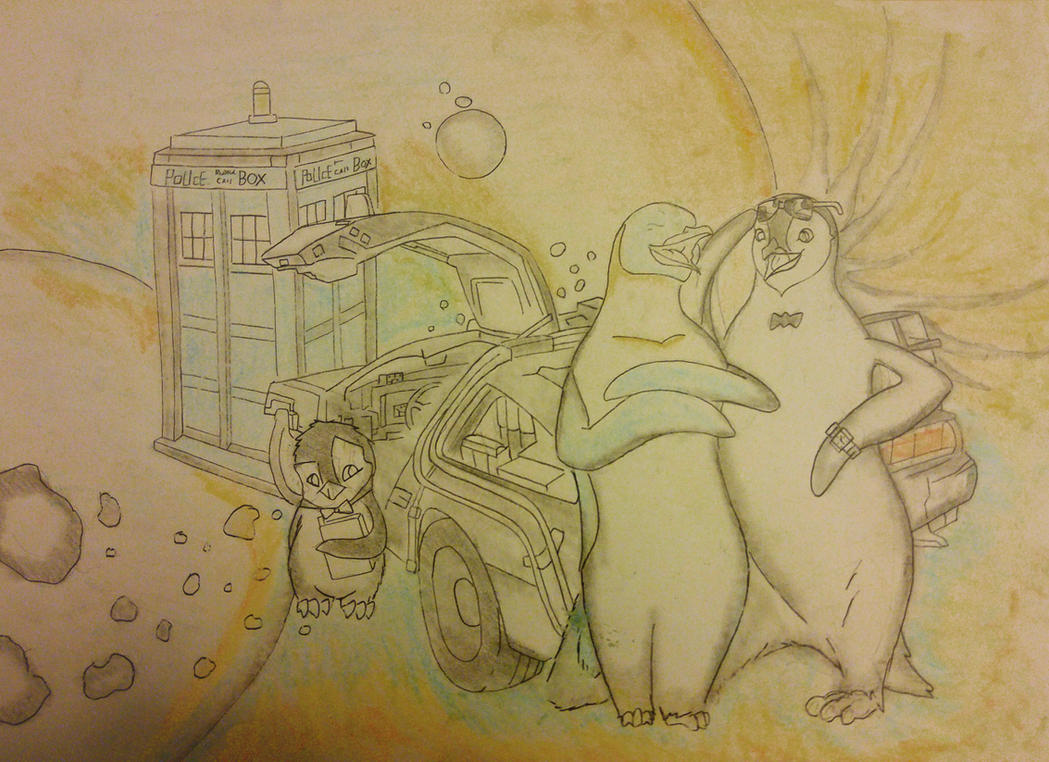 HAPPY FEET  Smash Up by Thundercloud666