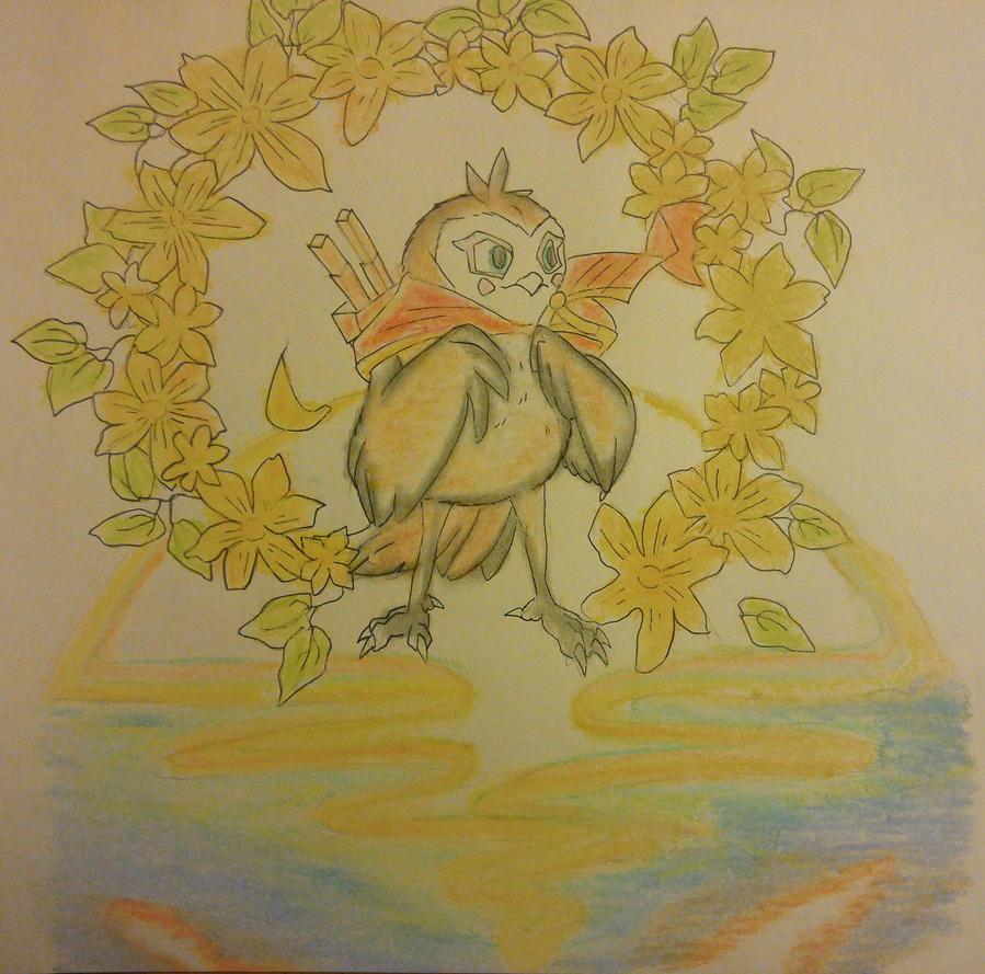 tiny owl by Thundercloud666