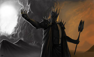 Sauron by SpartanK42