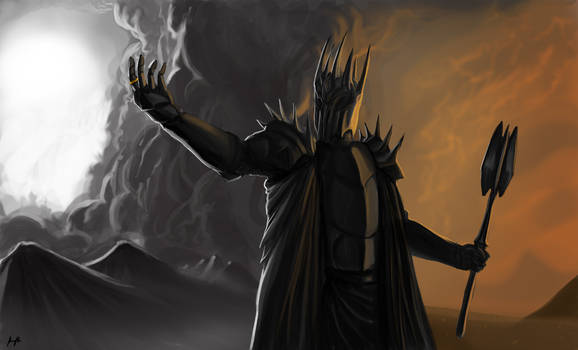 Sauron by SpartanK42