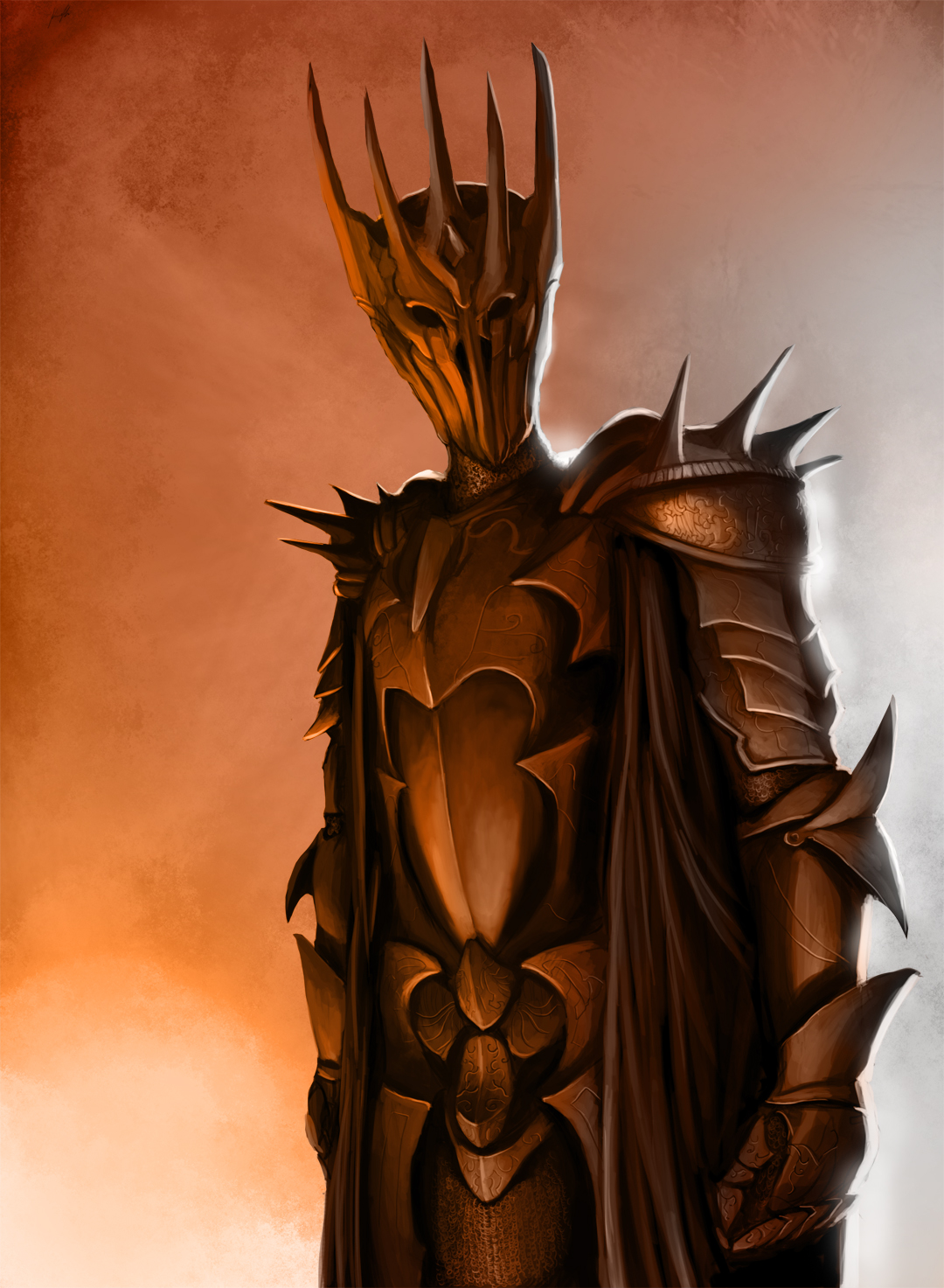 Dark Lord Sauron by SpartanK42