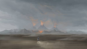 Fingolfin rides to Angband