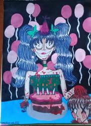 Dia 22 Happy Birthday Darling by sakuramochi222