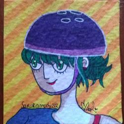 Dia 23 Skater girl by sakuramochi222