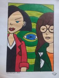 Daria and Jane by sakuramochi222