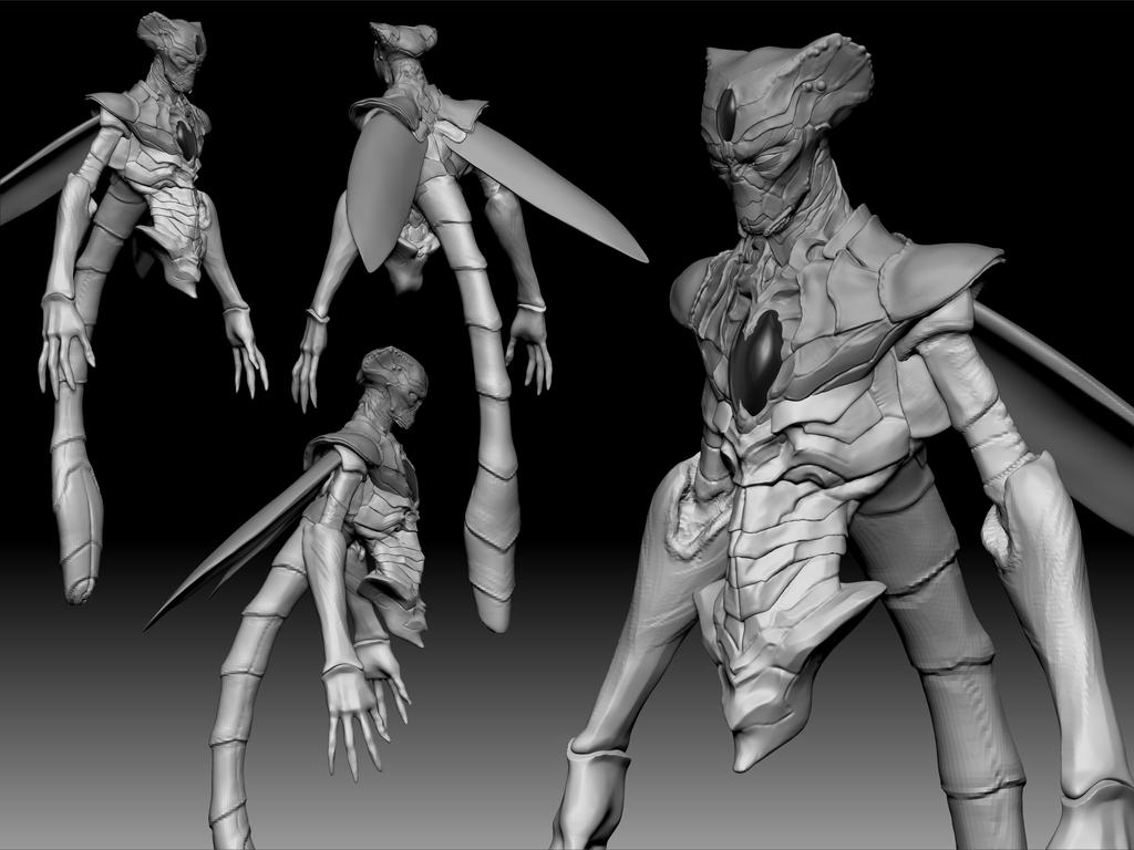 Cell WIP 02 by fumeista23