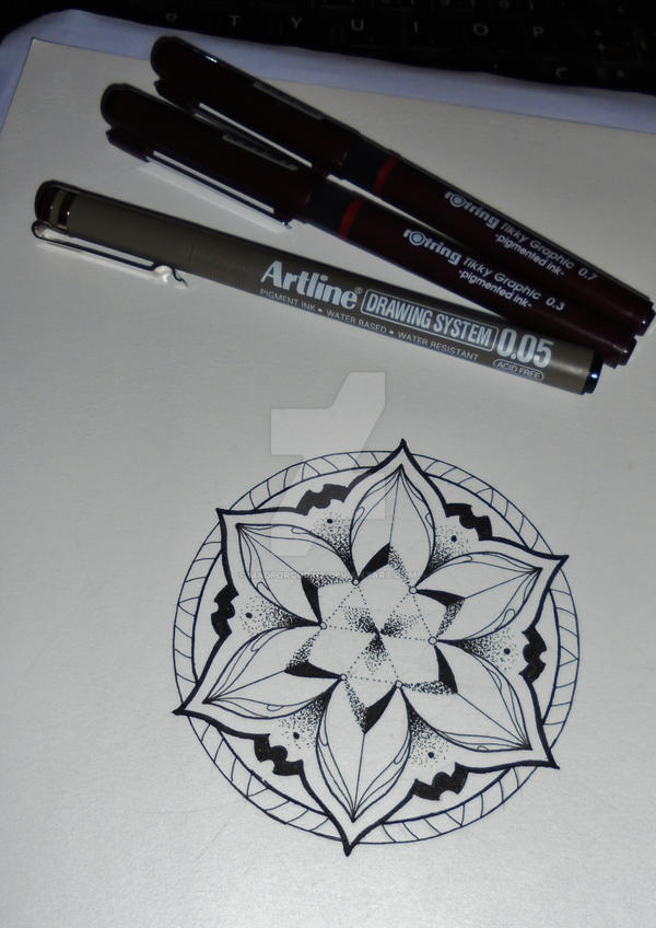 Mandala tattoo design #4 by MadPorcupine