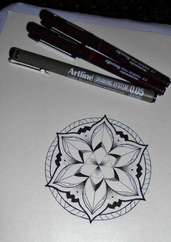 Mandala tattoo design #4