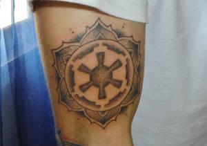 Star wars mandala tattoo