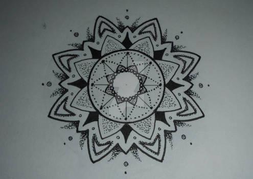 Mandala design #9