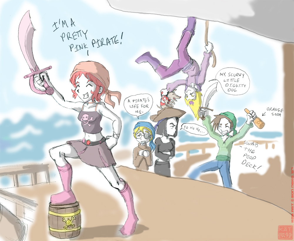 Pirates by Son-Neko