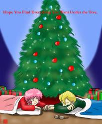Under the tree by Son-Neko