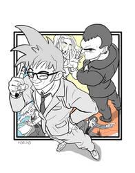 Doctor Who Dragon Ball Super