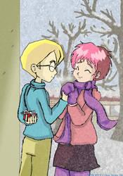 Cold hands, Warm heart by Son-Neko
