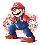 Fired Up Mario