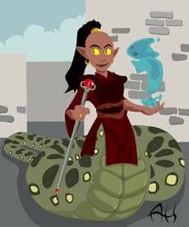 Naga Sorceress
