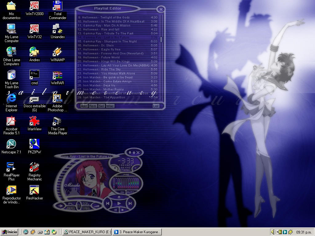 My win2k desktop by nandemonair