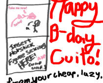 Happy Birthday, Cuito by brandeis1