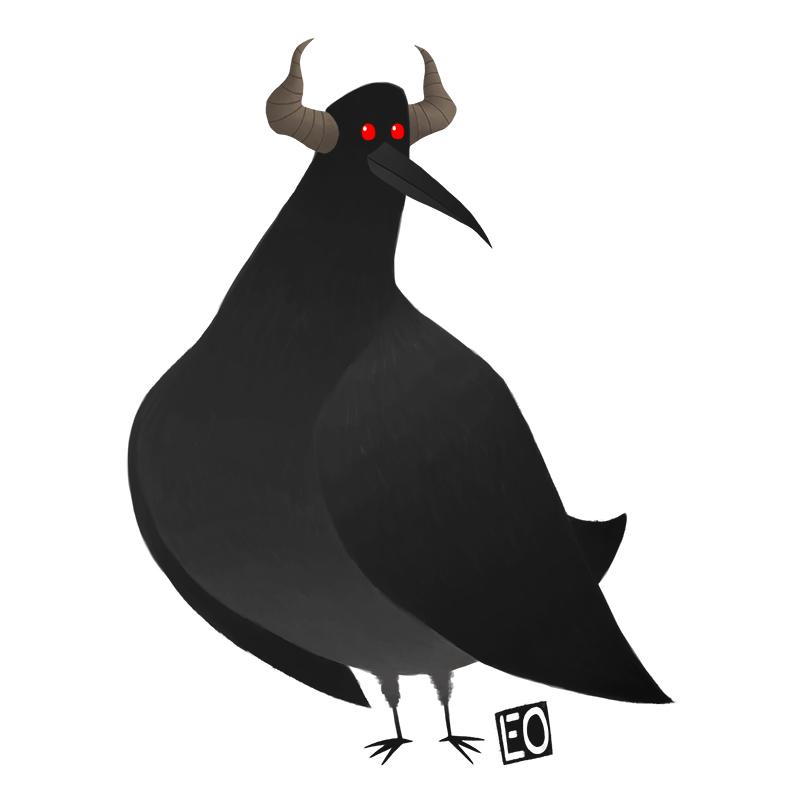 Devil Birdie by EO88