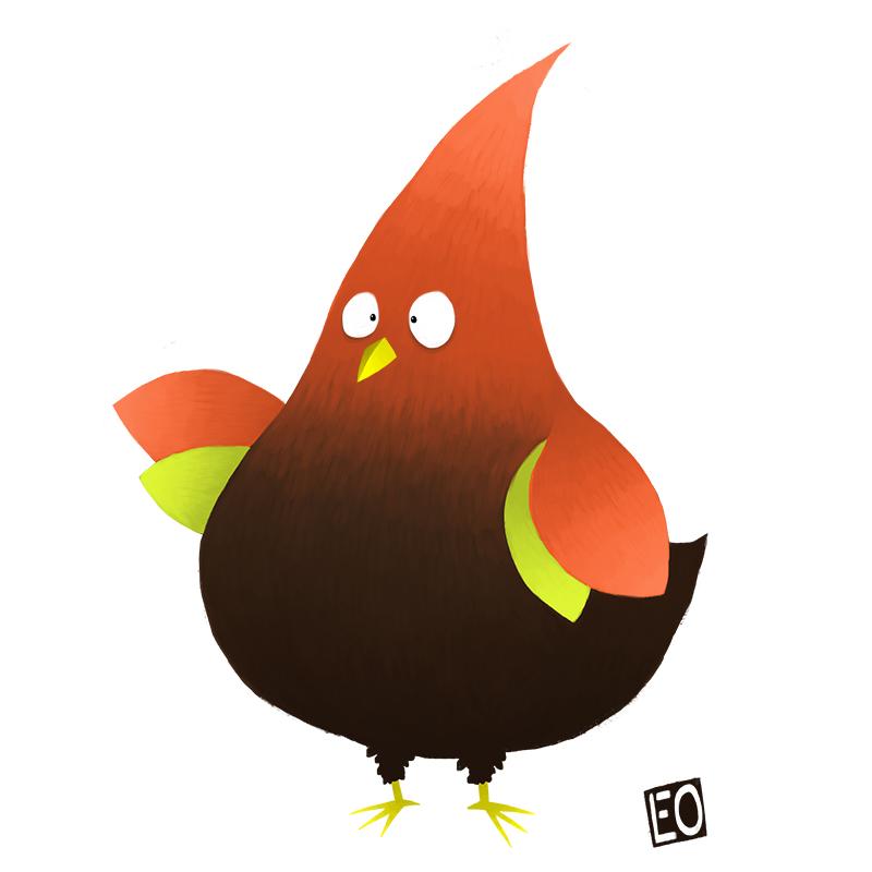 Pointy Birdie by EO88