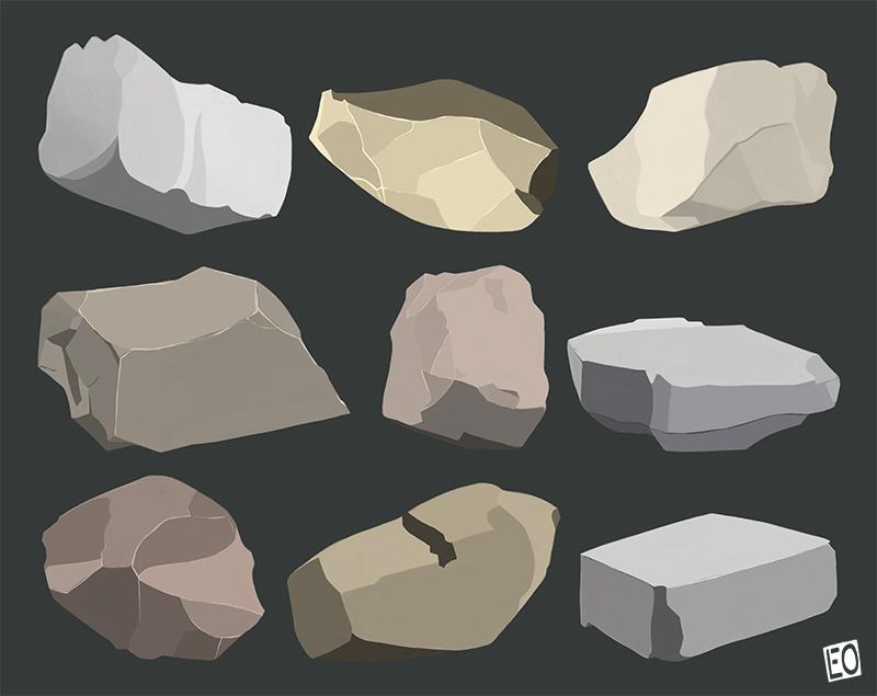 Rocks by EO88