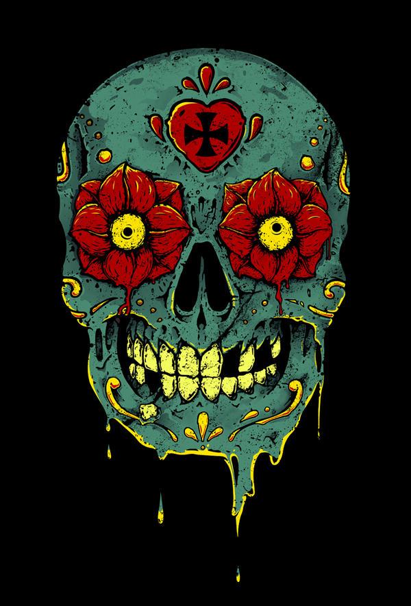 Sugar Skull by Impakto on DeviantArt