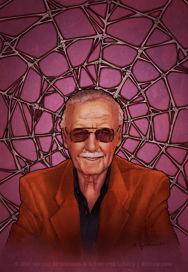 Stan Lee cover by bullsik