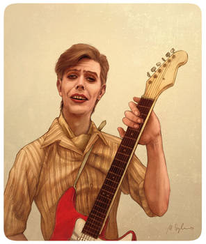 David Bowie: Be My Wife by bullsik
