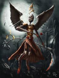Bloodborne Raven Master Boss by DClayne
