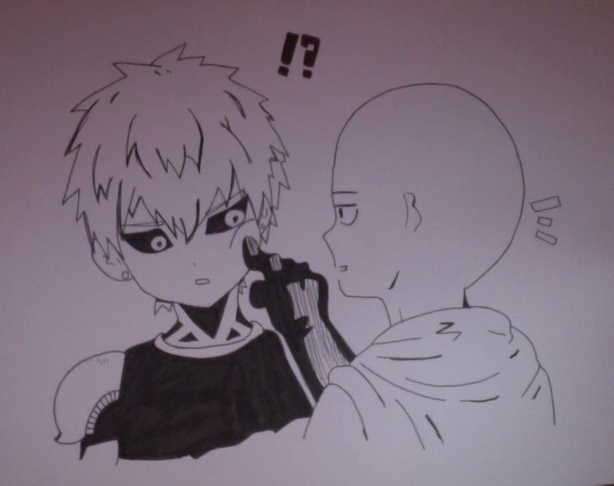 One Punch Man - Saitama and Genos by KomoriYui on DeviantArt