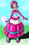 Pinkie Pie Gala Dress. humanized