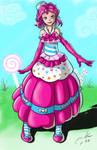 Pinkie Pie Gala Dress. humanized