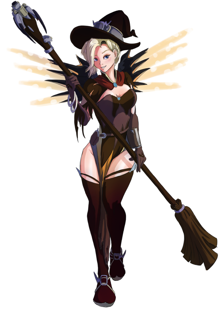 Overwatch halloween mercy by The-Park on DeviantArt