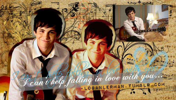 Logan Lerman 2010 Wallpaper