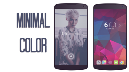 MNML color by pyscostyle