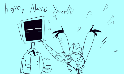 NEW YEAR OR WHATEVER IM TIRED by Amii-stuff