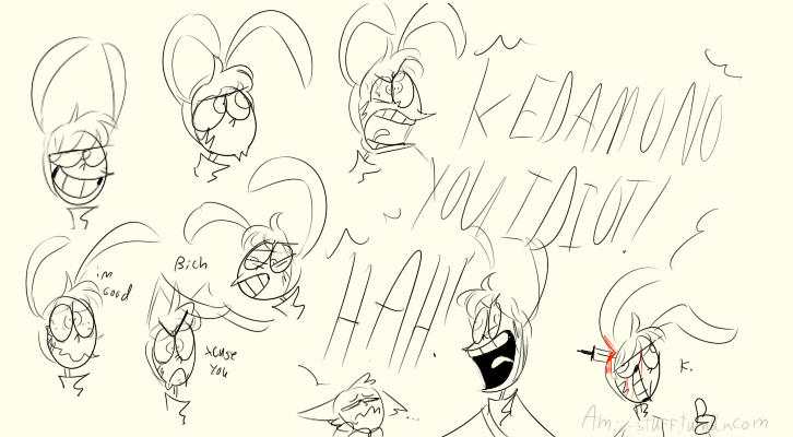 Popee-Expression Dump pt2 by Amii-stuff