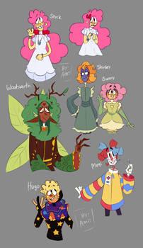 Miscellaneous DHMIS humanoid designs i made
