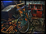 Bicycle in Shed