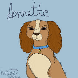 Annette (adult) by HetherWassko