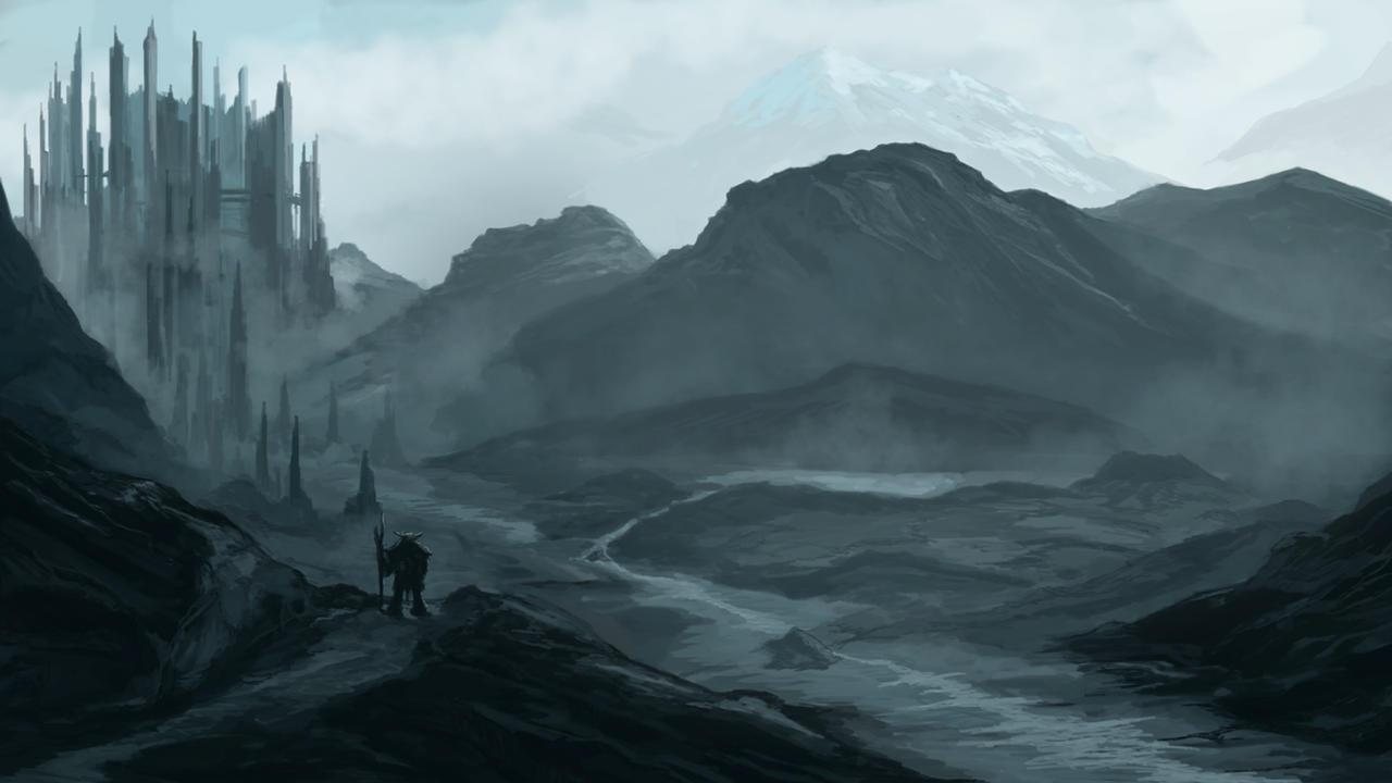Fantasy Landscape by umerabbasi