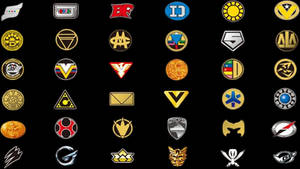 Super Sentai Logos