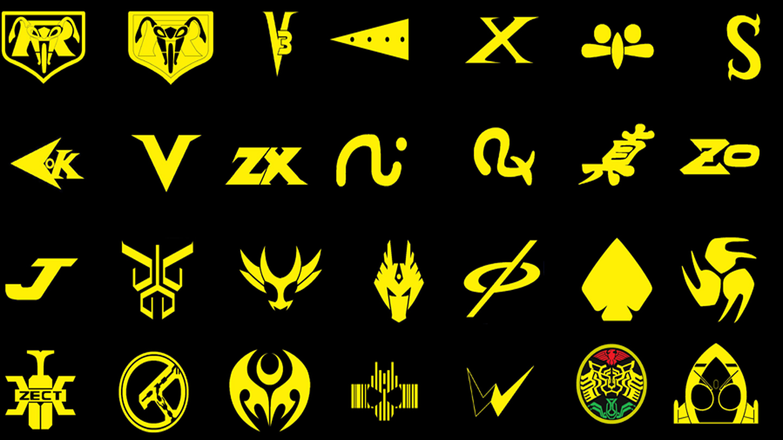 Kamen Rider Logos