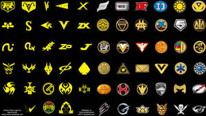 Kamen Rider x Super Sentai Logos