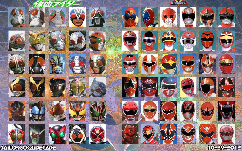 Kamen Rider X Super Sentai Wallpaper By Jm511 On Deviantart