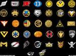 Super Sentai Logos v2