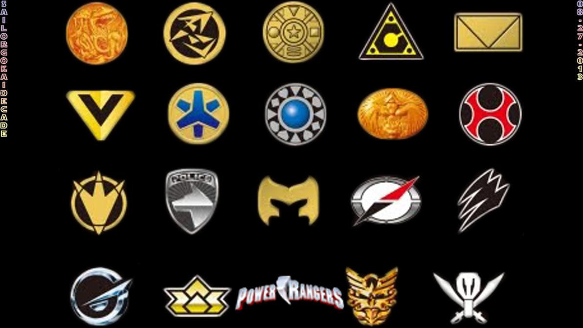 All Power Rangers Logos Brand New New Logo For Power Rangers