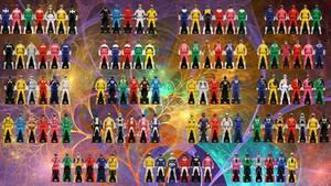 Power Rangers Super Megaforce Ranger Keys by jm511