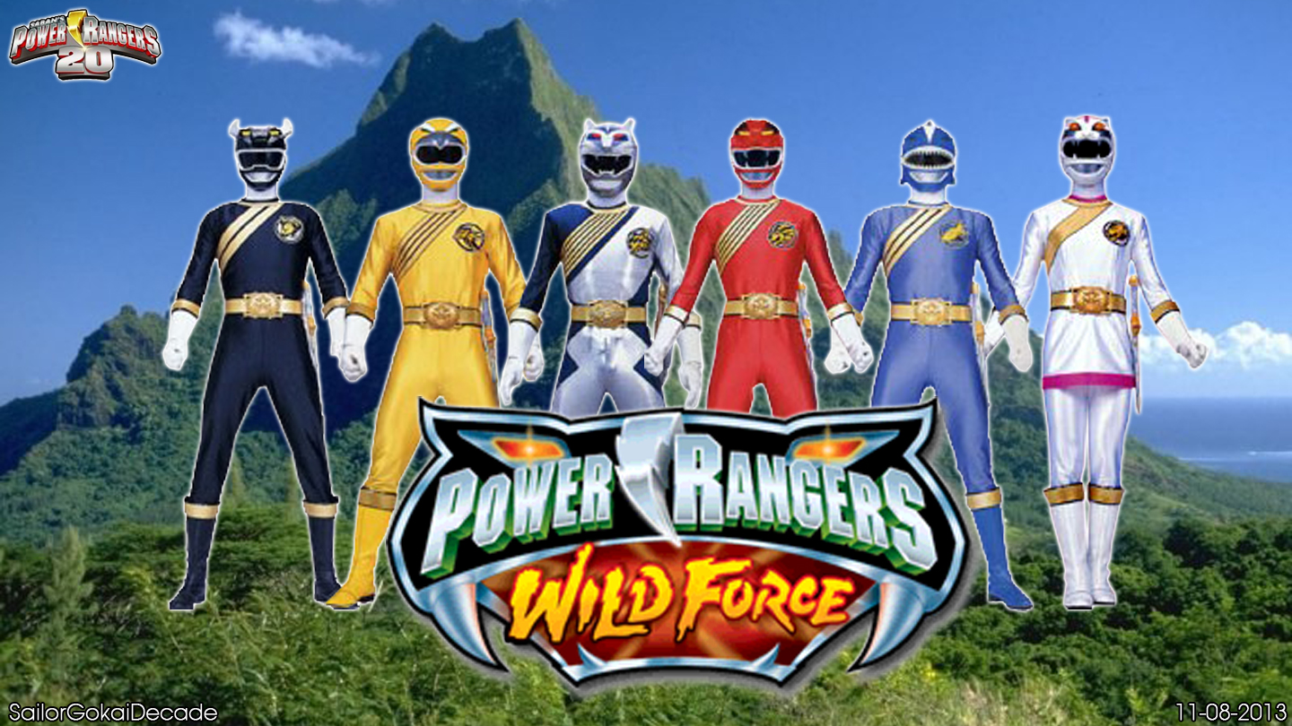 Power Rangers Wild Force WP By Jm511