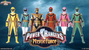 Power Rangers Mystic Force WP